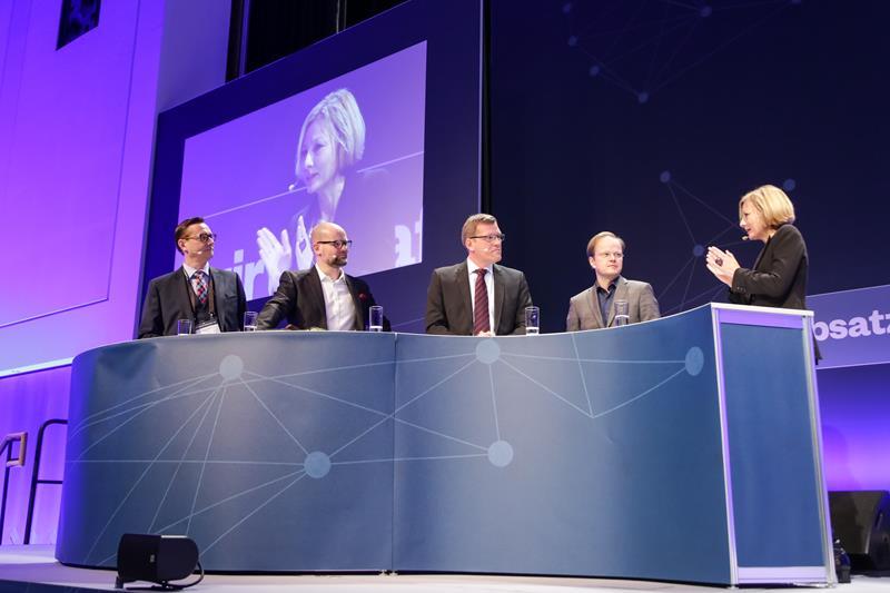 Round Table zum Thema Storytelling auf dem 43. Deutschen Marketing Tag 2016 in Leipzig
