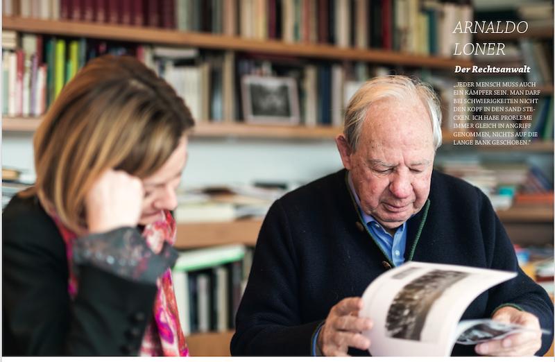Buchauszug: Arnaldo Loner, der Anwalt, der in den Schulen vor Nationalsozialismus warnt