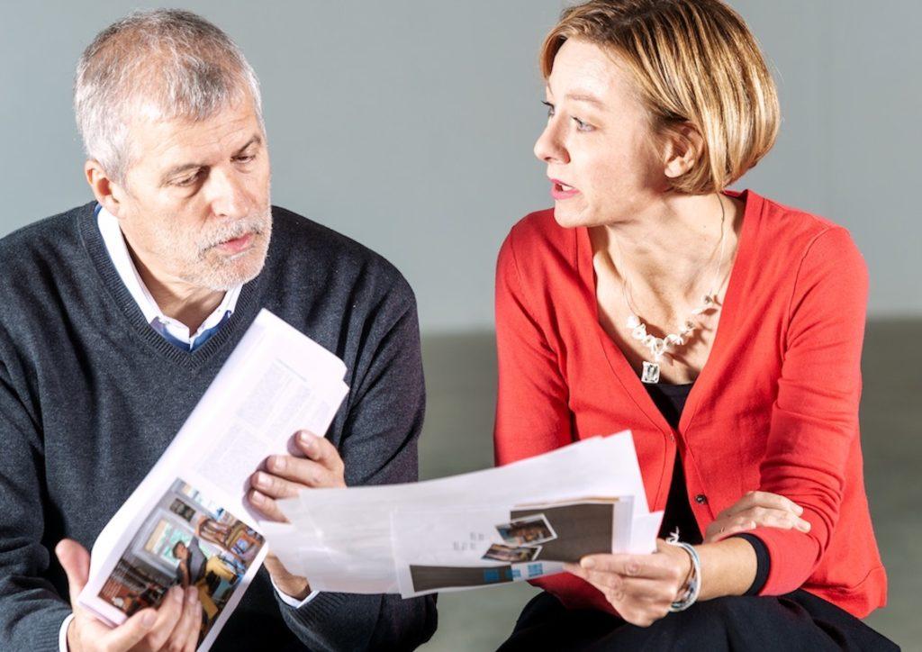 Glauben an das Lebensglück beim Älterwerden: Gabriele Crepaz und Ulrich Egger
