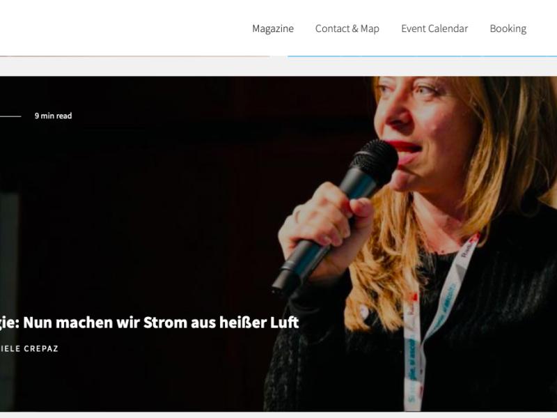 Noi Techpark Magazine: Geschichten geben Innovation ein Gesicht